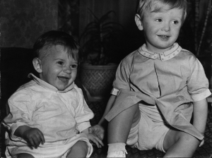 John Ripley (left) earned the nickname Baby Buck at an early age. His mischievous eyes transmitted a boundless energy to all those around him. The affectionate bond between him and his brother, Michael, was evident early on.