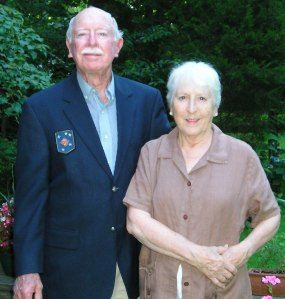 Sergeant Kenneth O'Donnell and his wife Bucky