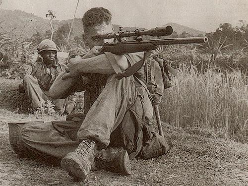 Legendary Sniper Carlos Hathcock