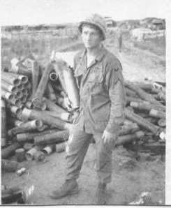 Private Davis in Vietnam the year he earned the Medal of Honor